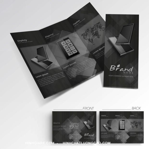 Thư viện Business Three Fold Flyer chuyên nghiệp